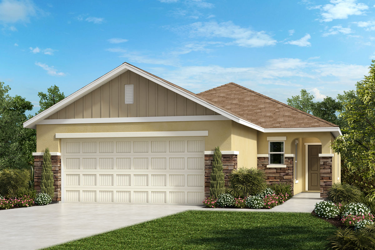 New Homes in Parrish, FL - Elevation G w Stone