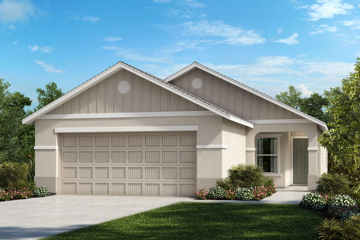 New Homes in Parrish, FL - 1637 Exterior Elevation G