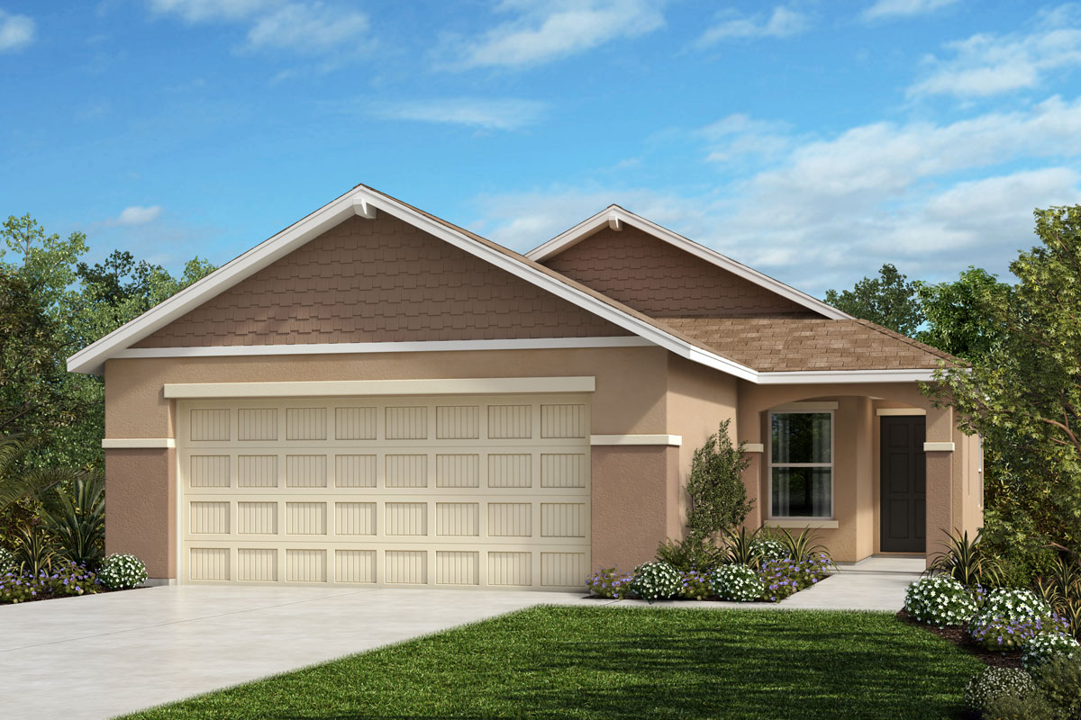 New Homes in Parrish, FL - 1637 Exterior Elevation H