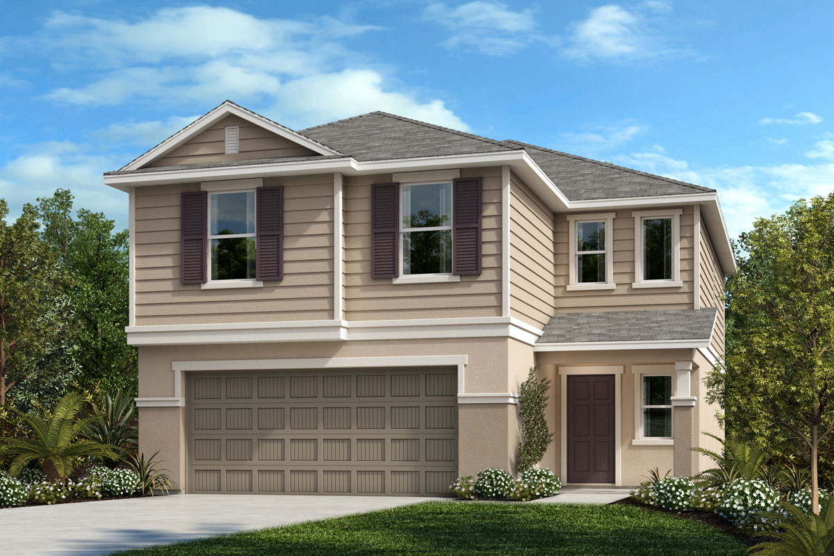 New Homes in Parrish, FL - Brightwood at North River Ranch Plan 1908 Elevation F