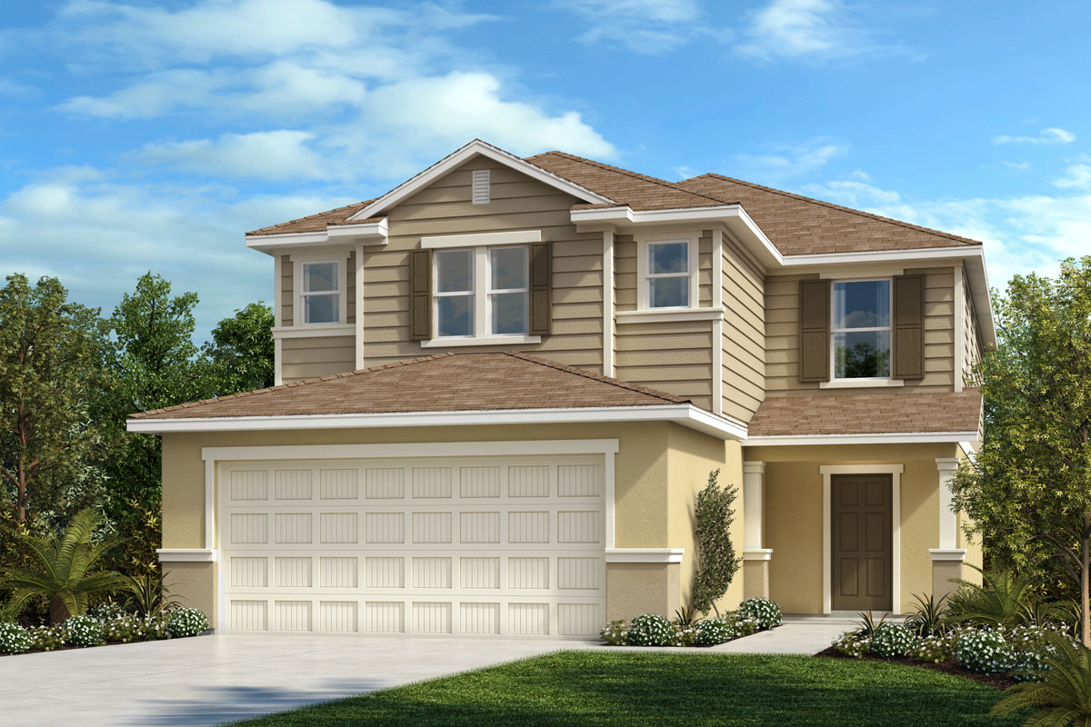 New Homes in Parrish, FL - Plan 2385 Elevation F
