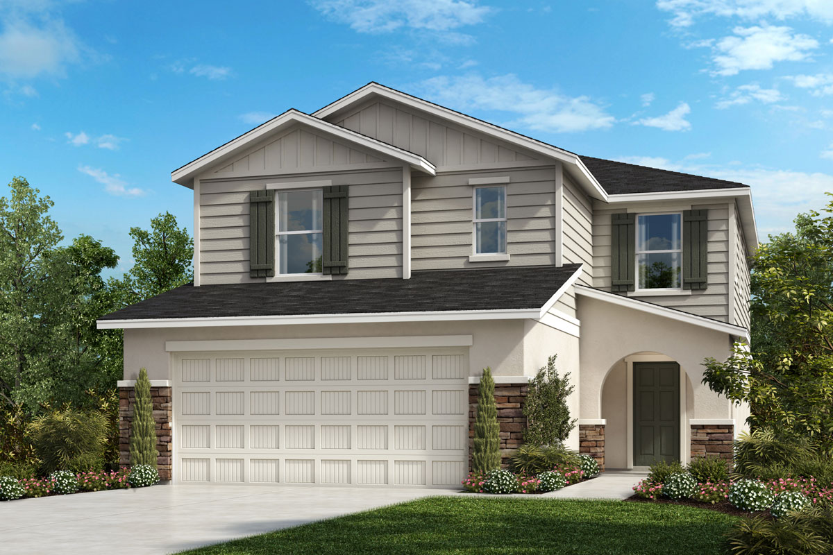 New Homes in Parrish, FL - Plan 2385 Elevation G w Stone