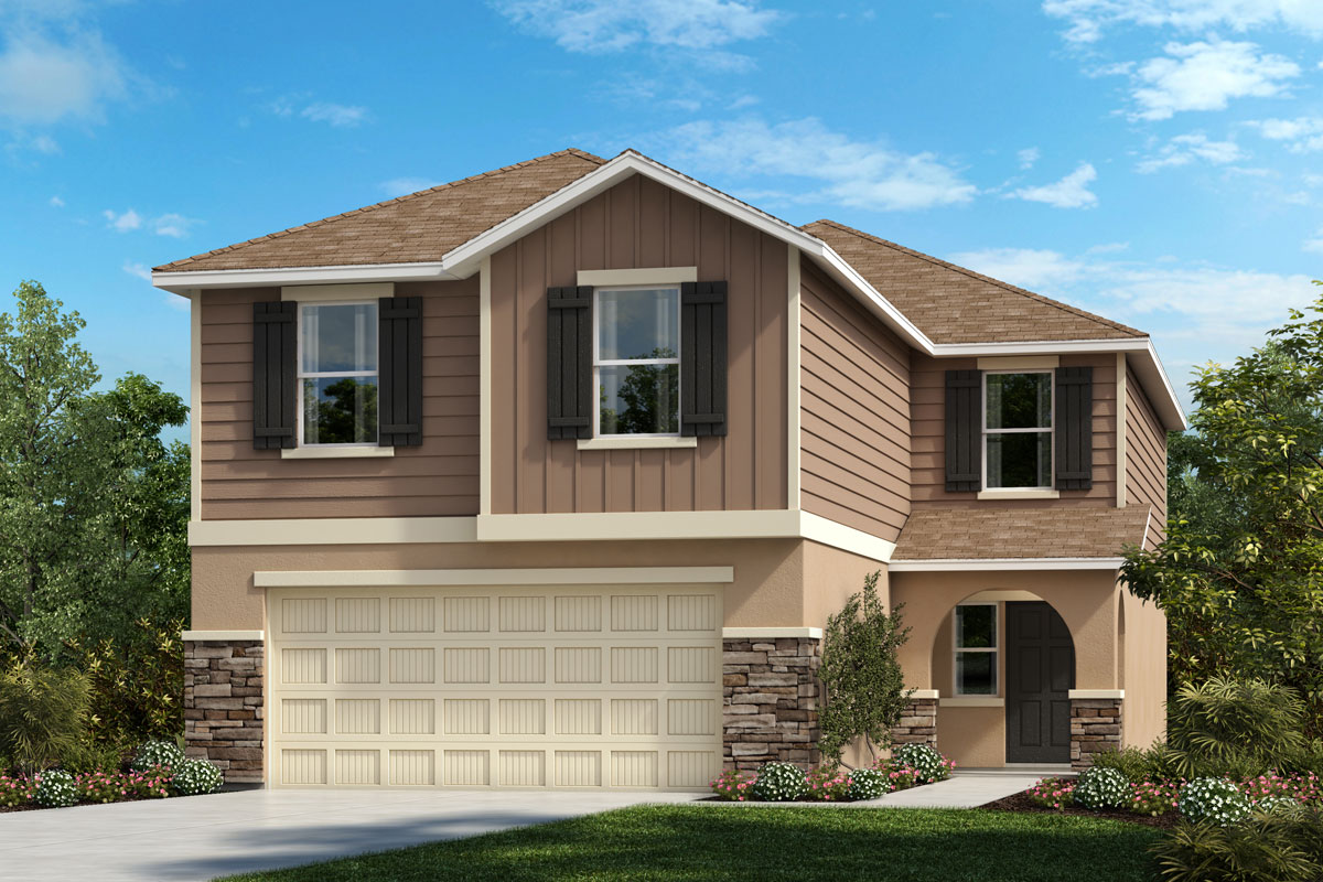 New Homes in Parrish, FL - Elevation G with Stone