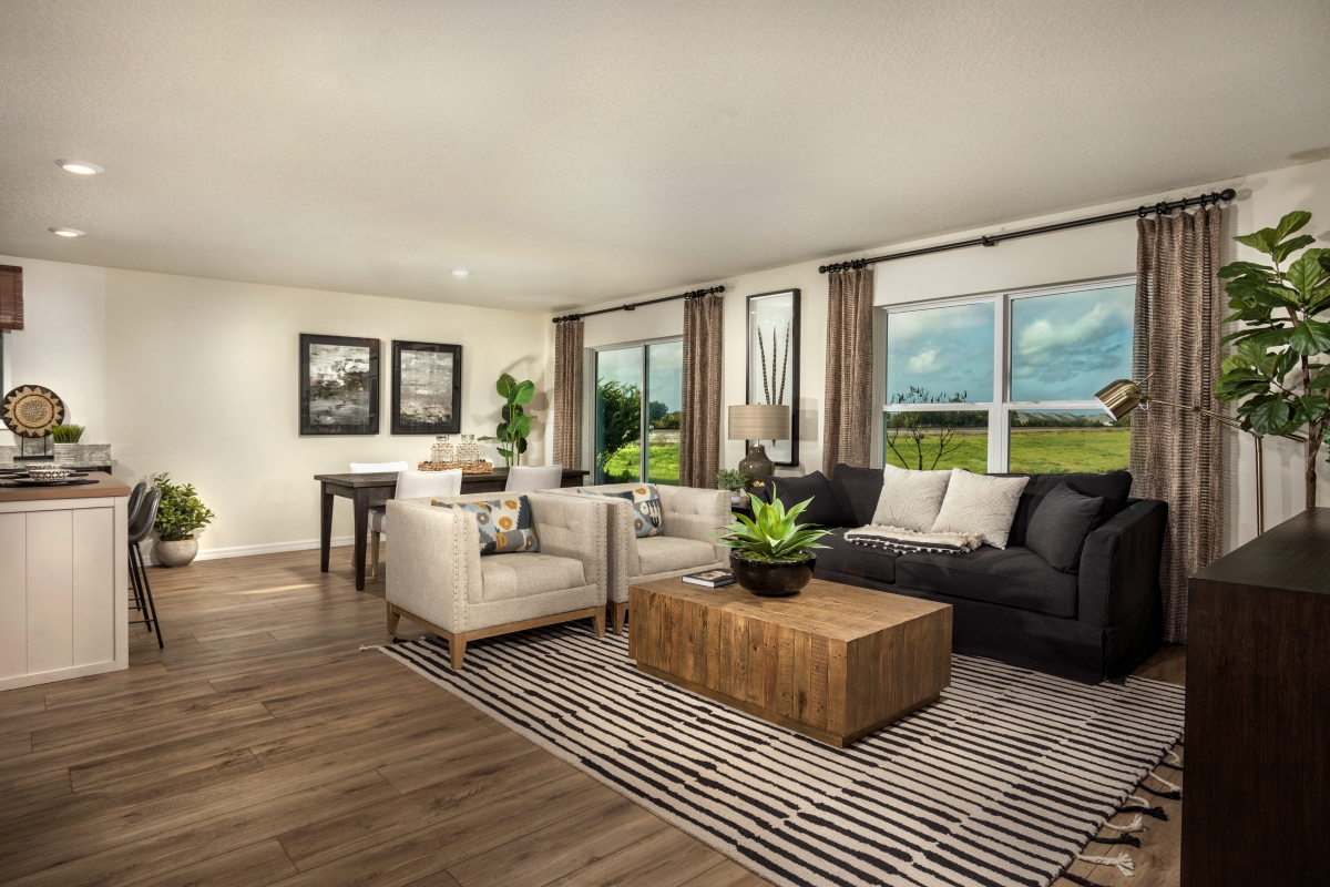 New Homes in Sarasota, FL - Grady Pointe Plan 1541 Great Room