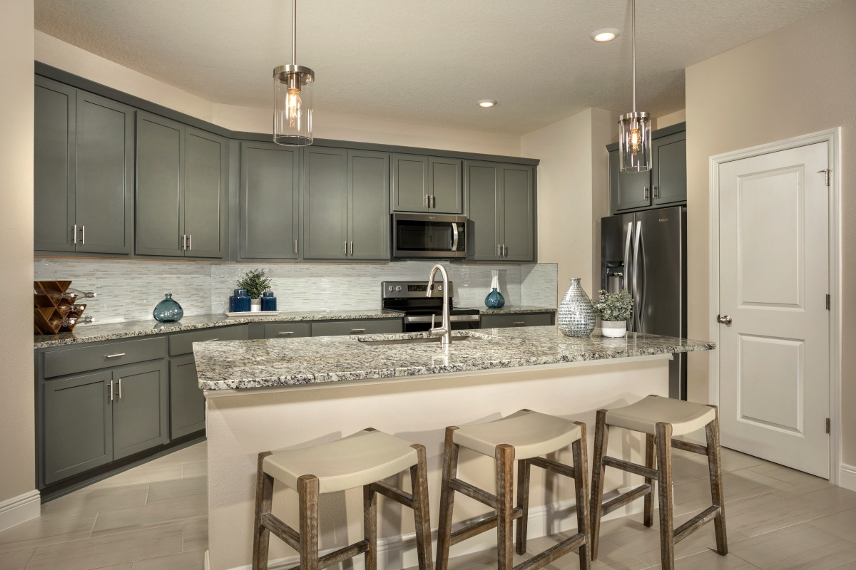 New Homes in Sarasota, FL - Grady Pointe Plan 1989 Kitchen