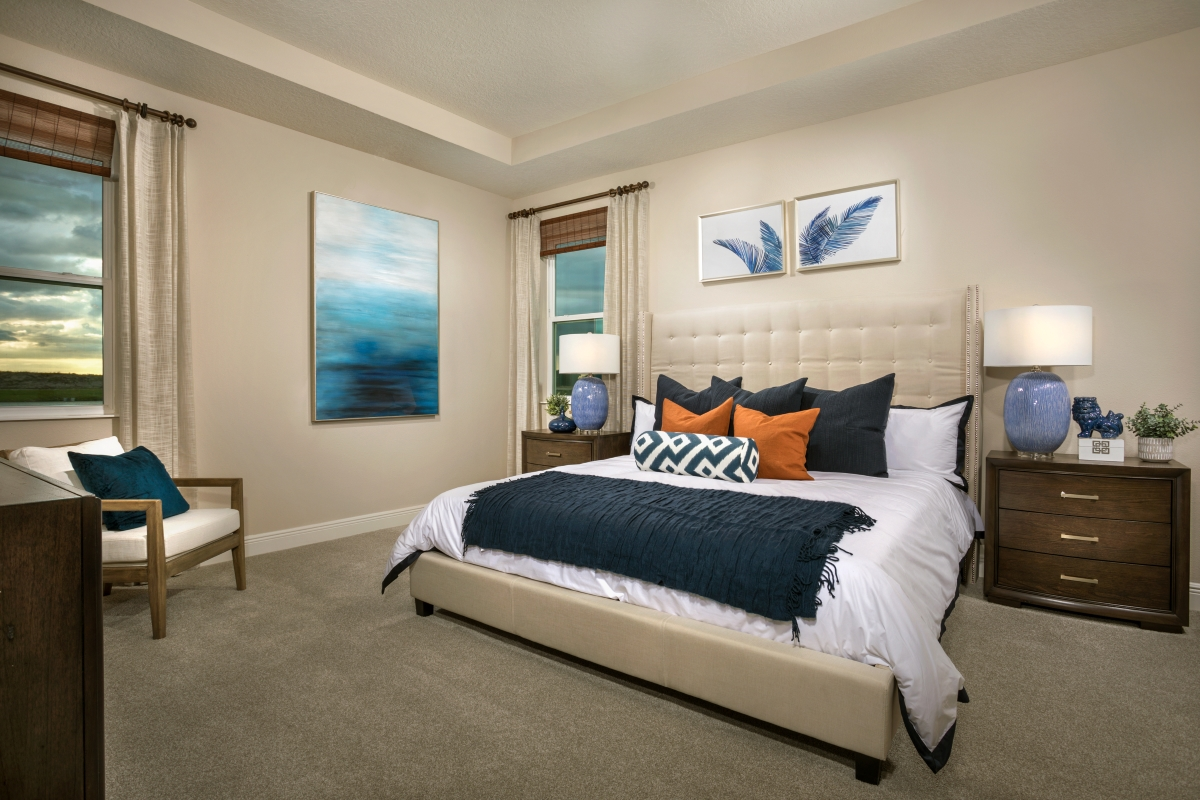 New Homes in Sarasota, FL - Grady Pointe Plan 1989 Master Bedroom