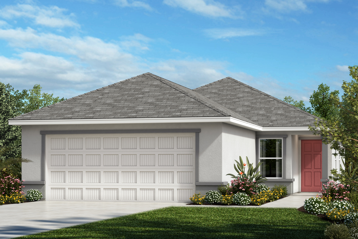 New Homes in Palmetto, FL - Heron Bay Plan 1346 Elevation A