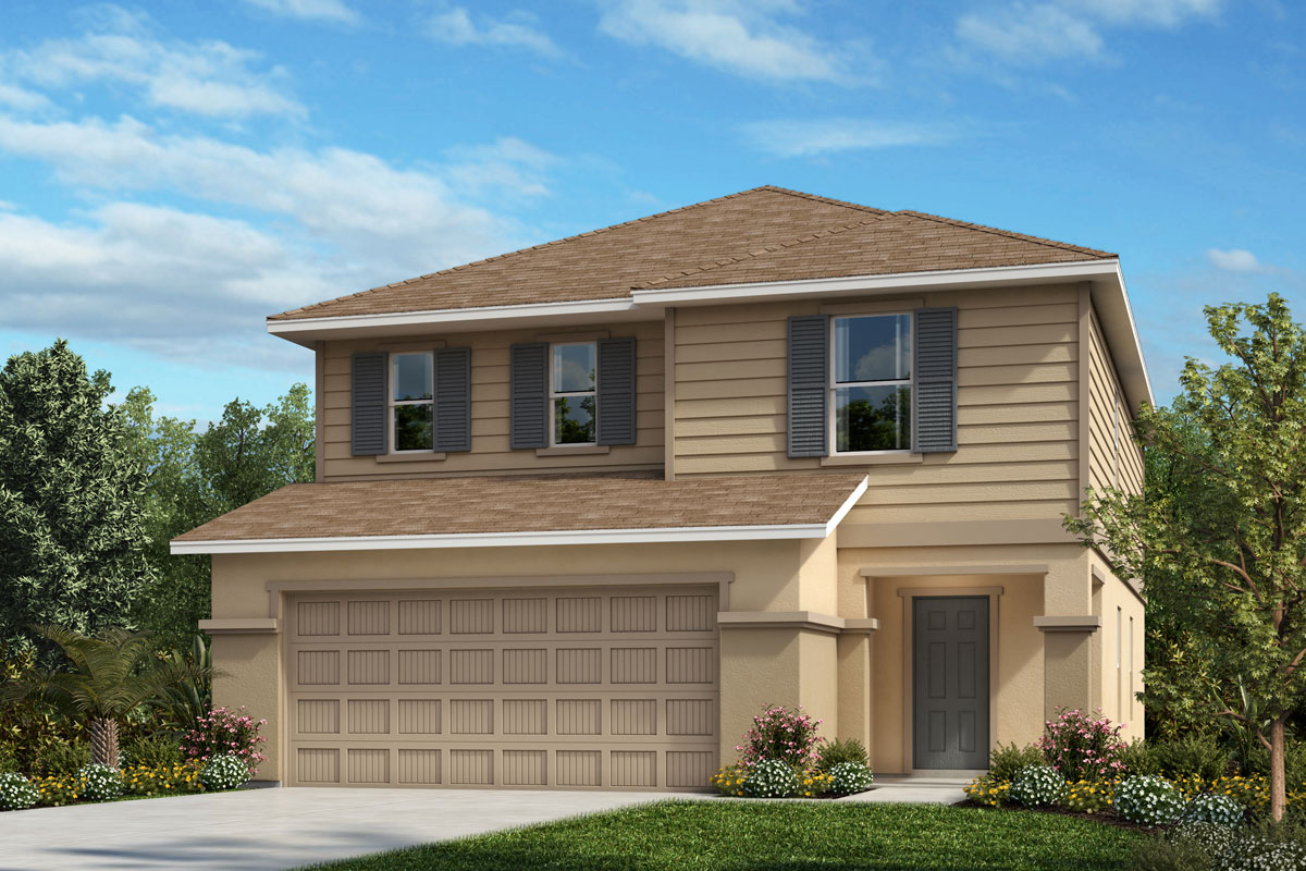 New Homes in Palmetto, FL - Heron Bay Plan 2107 Elevation E