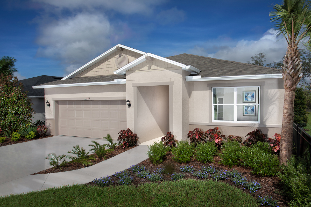 KB model home in Hudson, FL