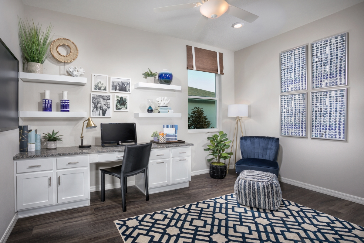 New Homes in Hudson, FL - Legends Pointe Plan 1989 Home Office