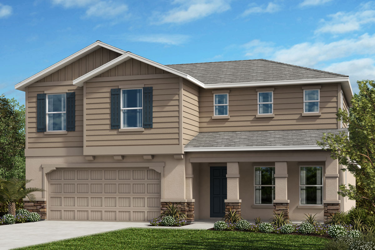 New Homes in Riverview, FL - Elevation G with Stone