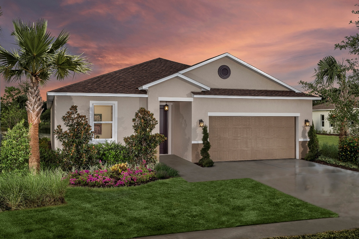 New Homes in Riverview, FL - Medford Lakes II Plan 2003 Modeled