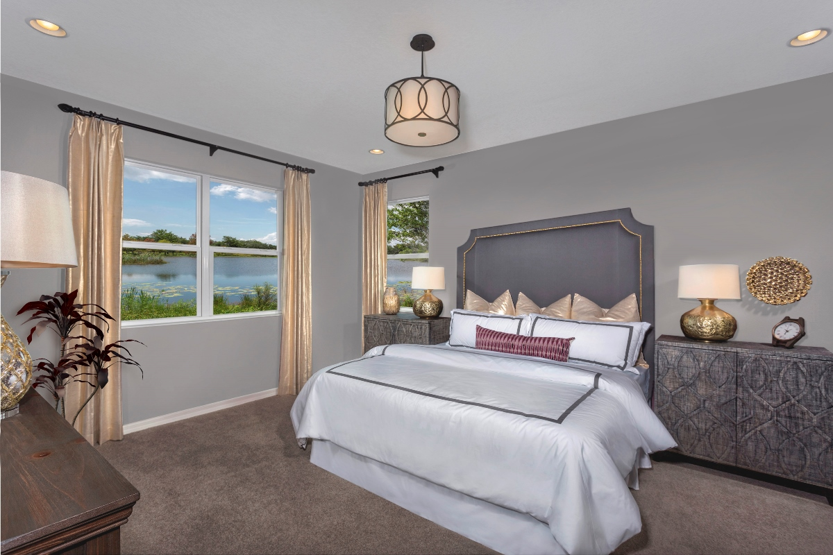 New Homes in Riverview, FL - Medford Lakes II Plan 2003 Master Bedroom
