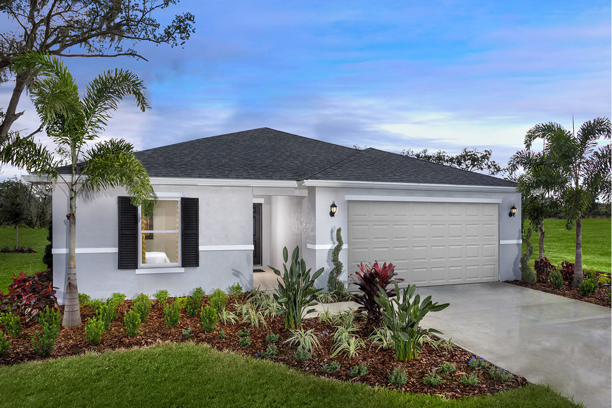 New Homes in Seffner, FL - Mirror Lake Plan 1707