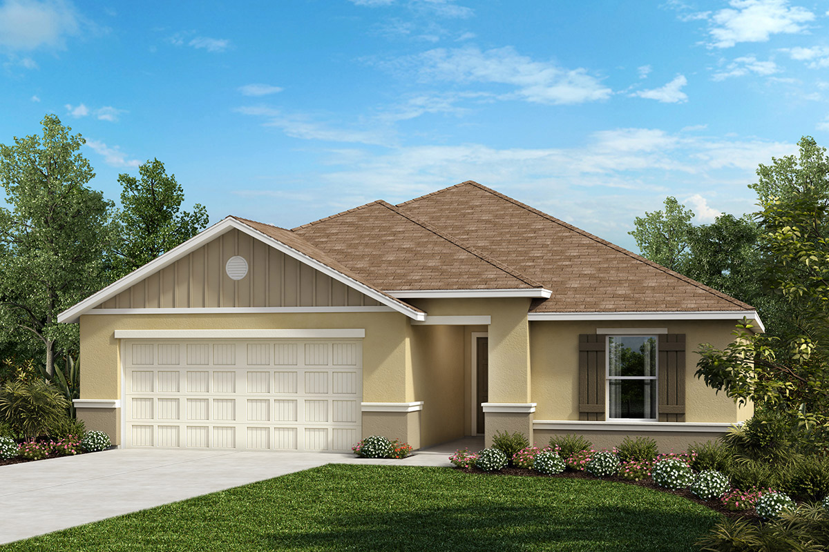 New Homes in Seffner, FL - 1707 Plan Elevation G