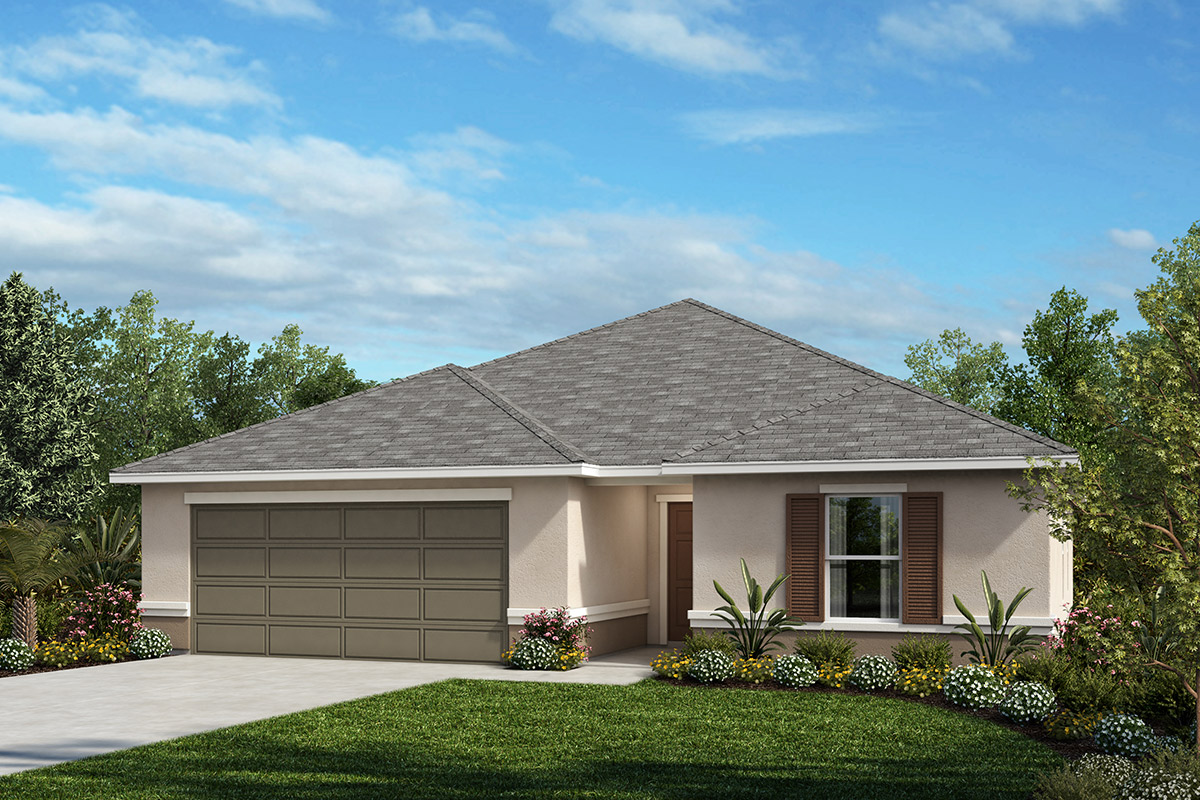 New Homes in Seffner, FL - Elevation A