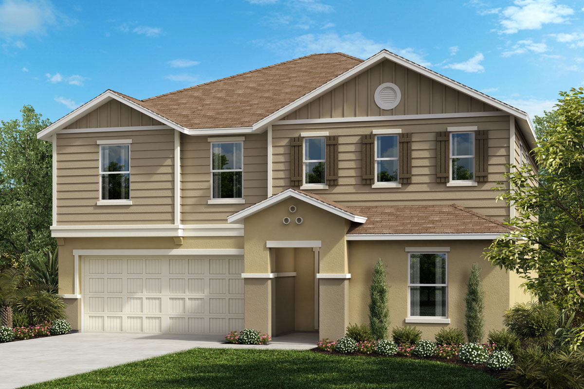 New Homes in Seffner, FL - Williams Pointe Plan 2566 Elevation G