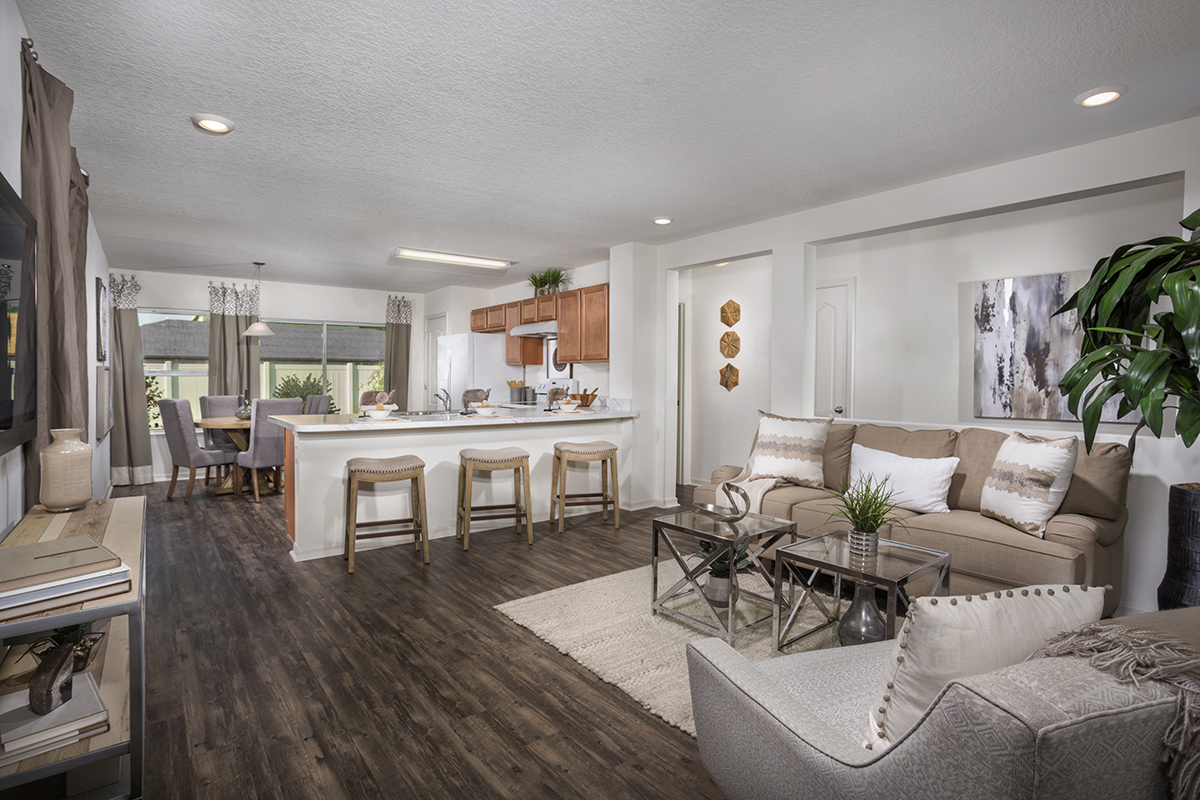 New Homes in Gibsonton, FL - Northgate 1346 Great Room