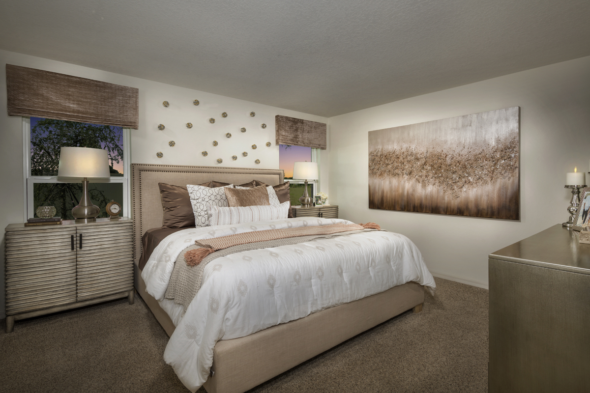 New Homes in Gibsonton, FL - Northgate 1346 Master Suite