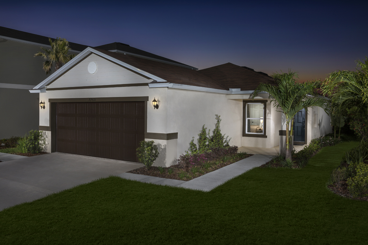 New Homes in Gibsonton, FL - Northgate Plan 1637 Exterior