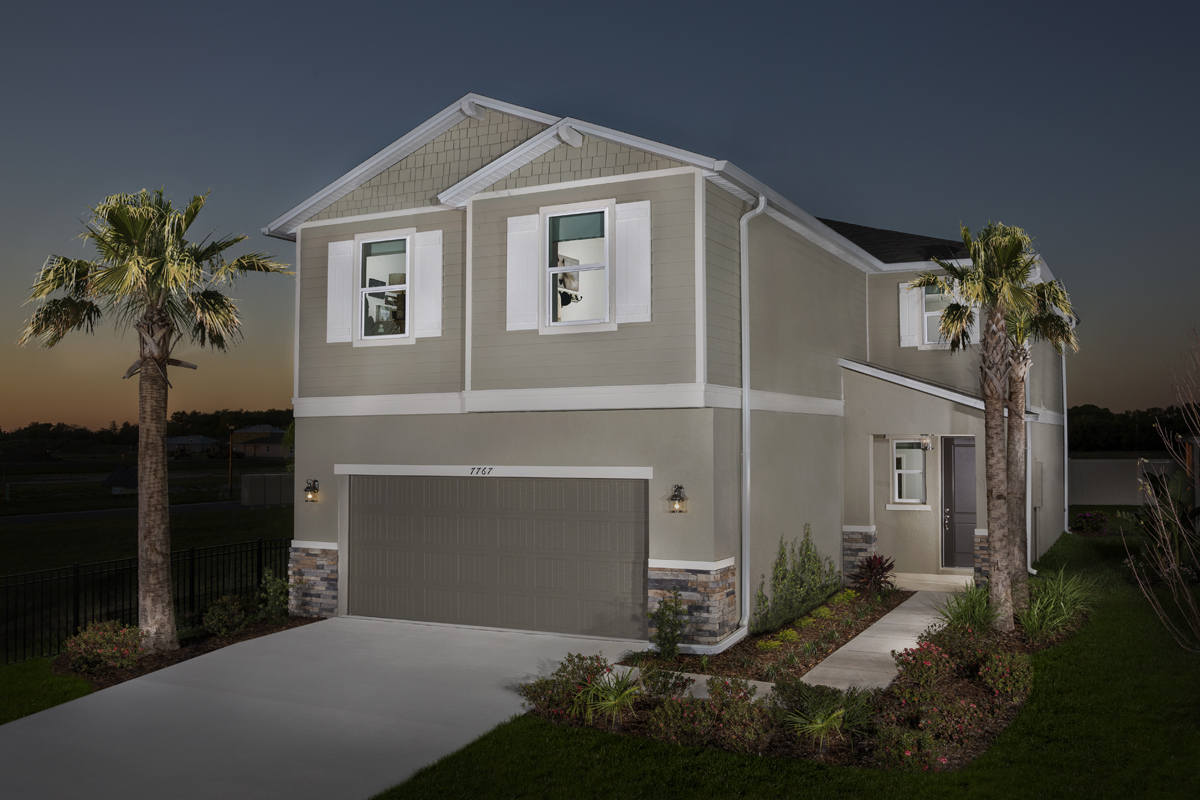 New Homes in Gibsonton, FL - Northgate Plan 2544 Exterior