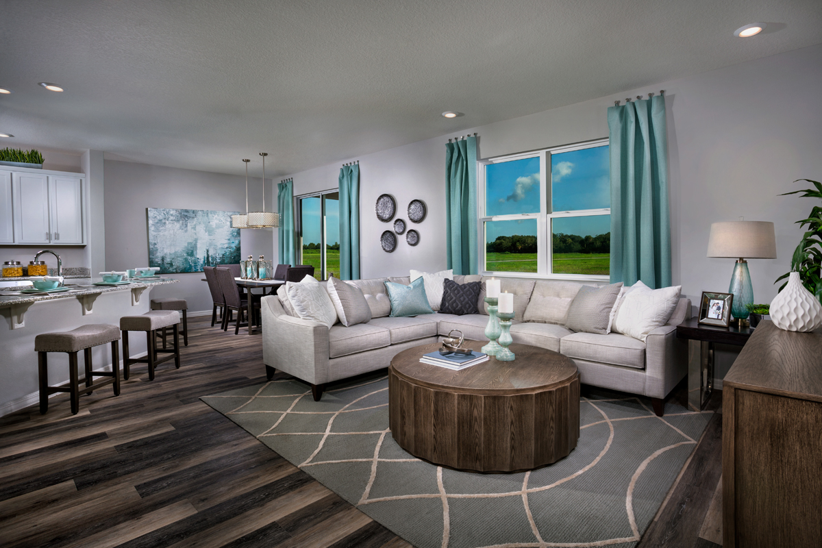 New Homes in Gibsonton, FL - Northgate Plan 2544 Great Room