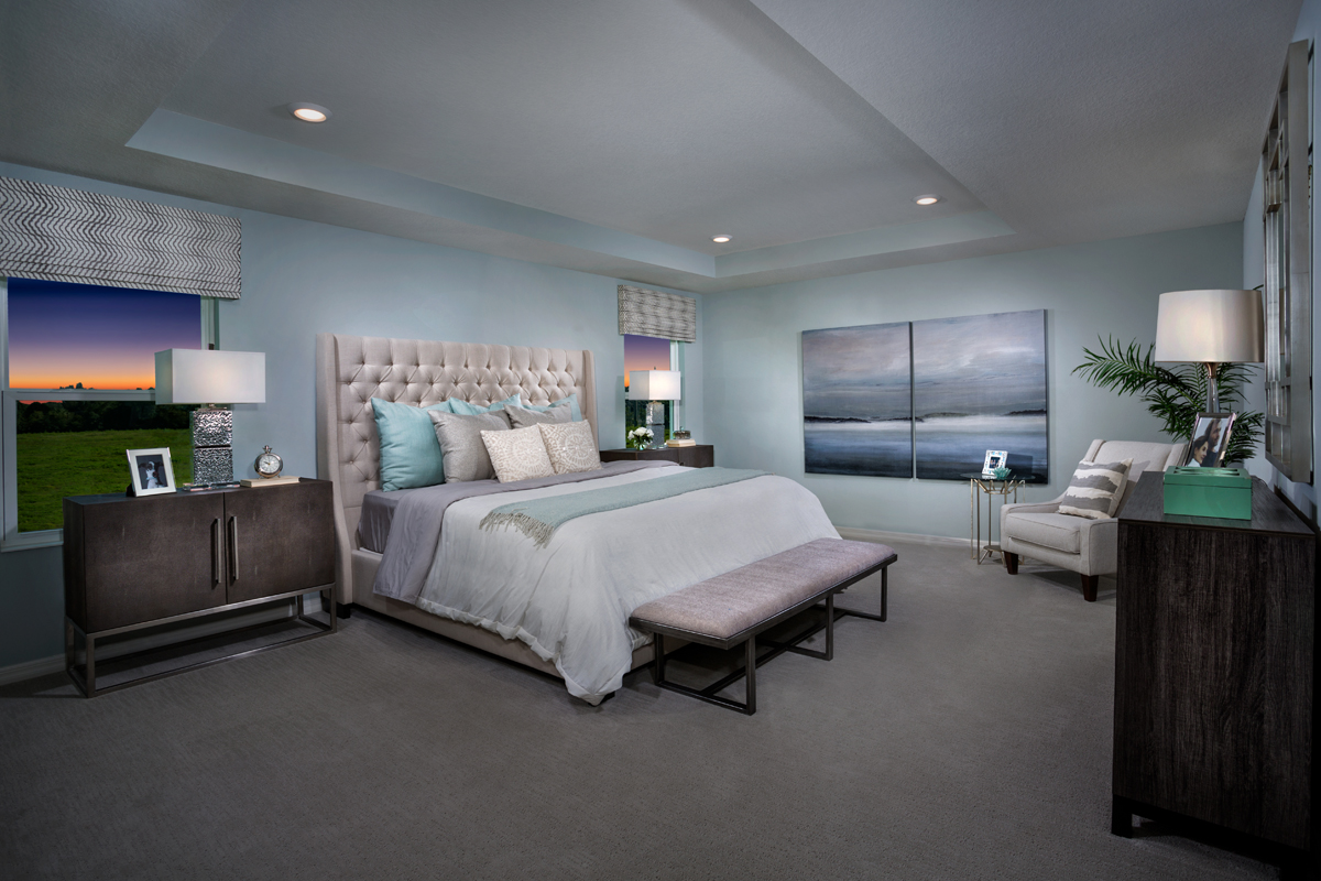New Homes in Gibsonton, FL - Northgate Plan 2544 Master Bedroom