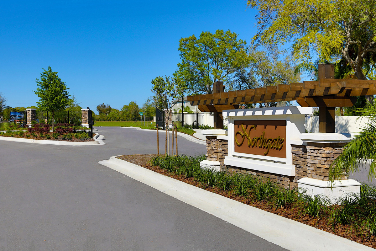New Homes in Gibsonton, FL - Northgate Northgate Monument