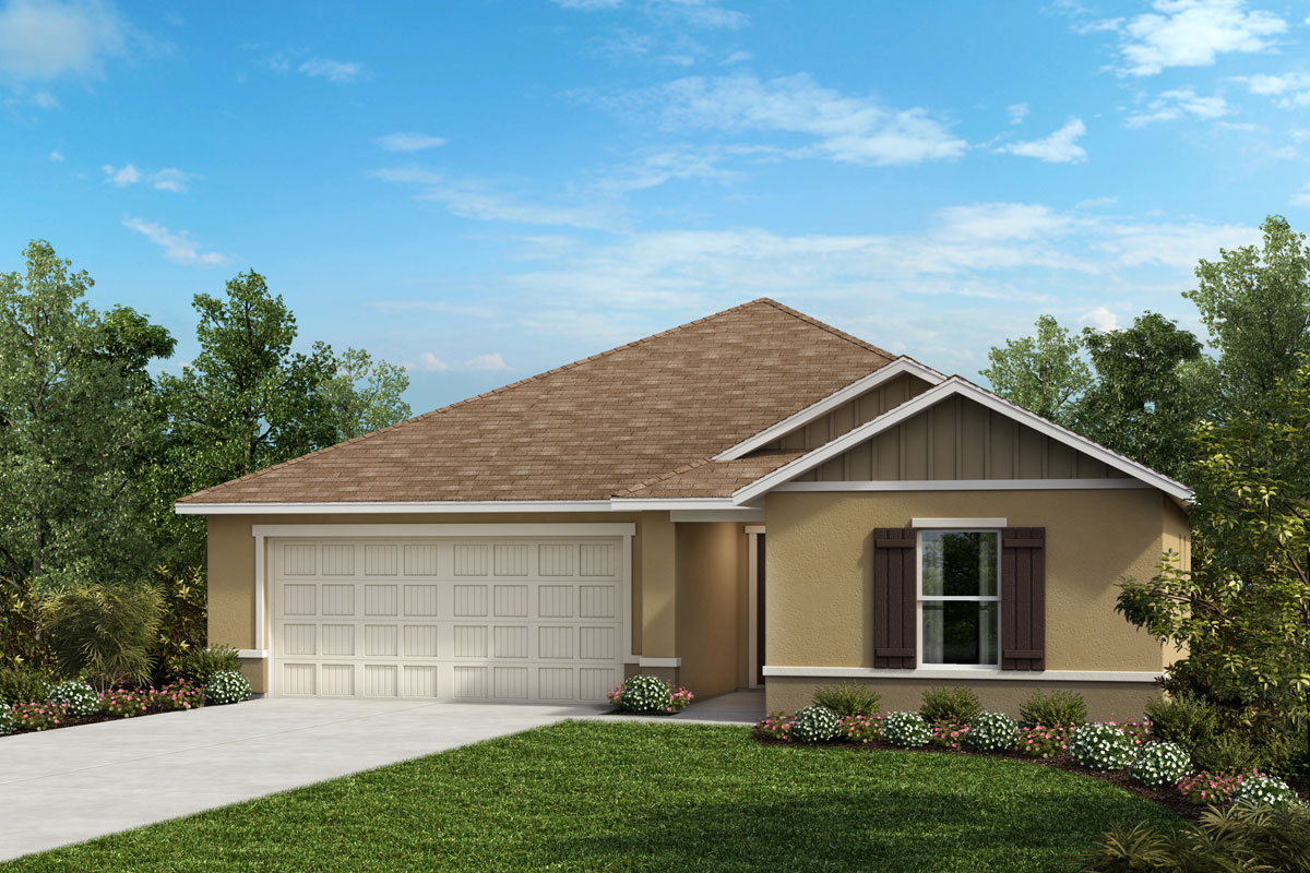 New Homes in Valrico, FL - 1541 Plan Elevation G
