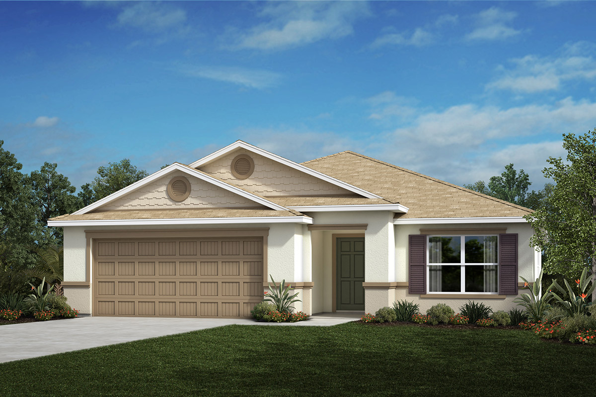 New Homes in Valrico, FL - 2333 Plan Elevation H