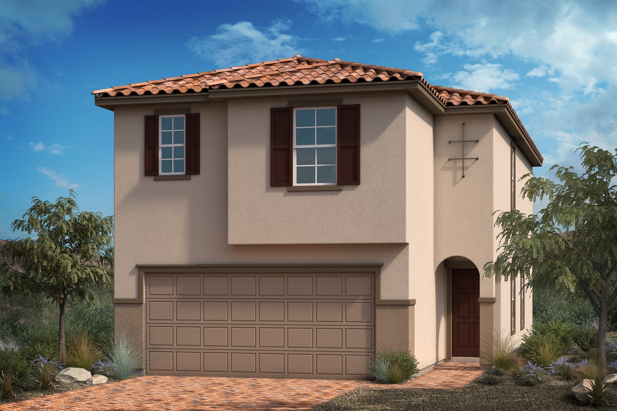 New Homes in Las Vegas, NV - Landings at Amizade Plan 1855 Elevation E