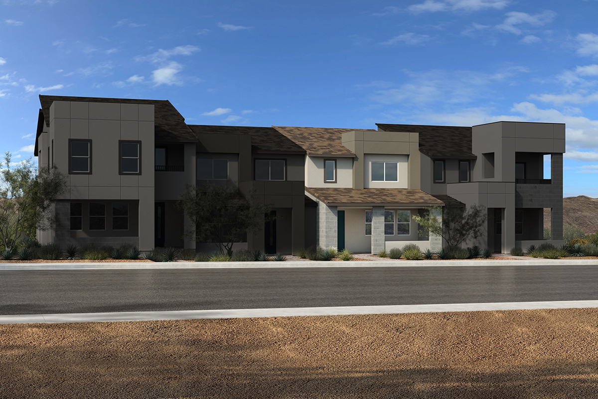 Plan 1448 Interior Unit Modeled New Home Floor Plan In Ascent At Summerlin By Kb Home