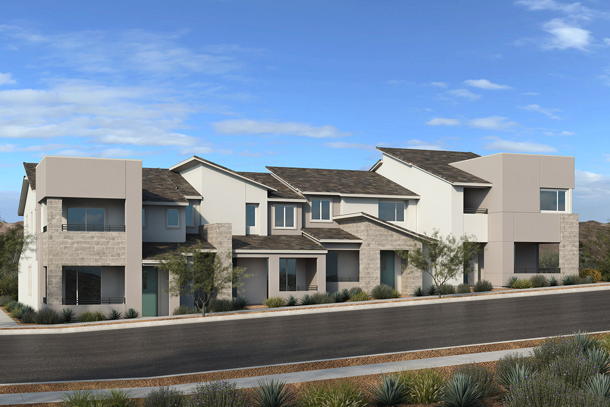 Browse new homes for sale in Ascent at Summerlin