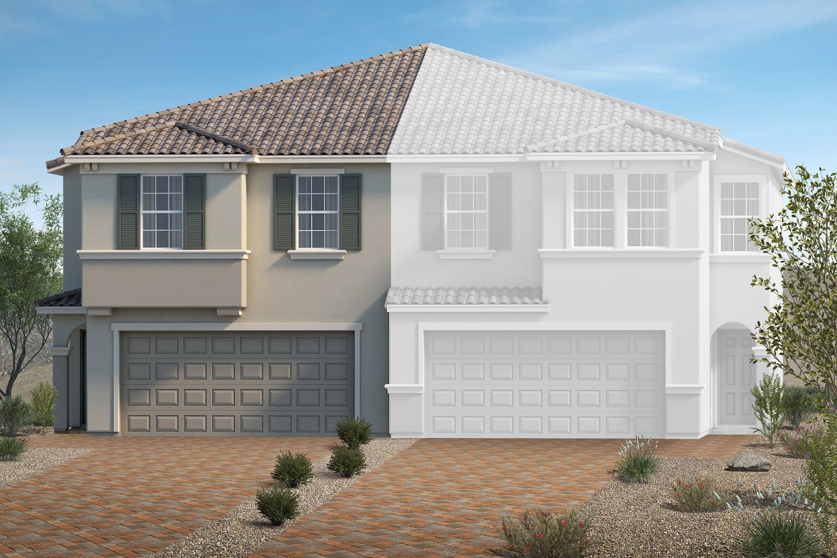 New Homes in North Las Vegas, NV - Elevation T