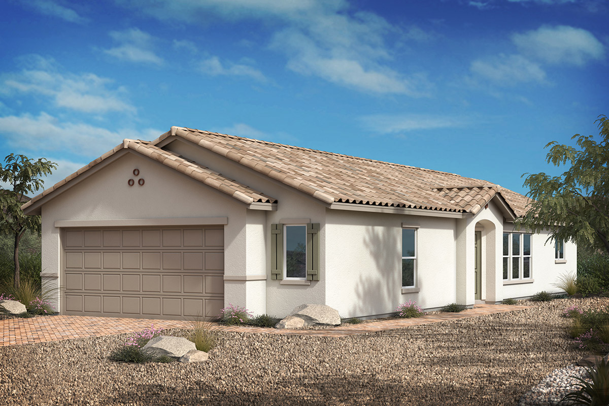 New Homes in Las Vegas, NV - Bremerton Plan 1203 Elevation A