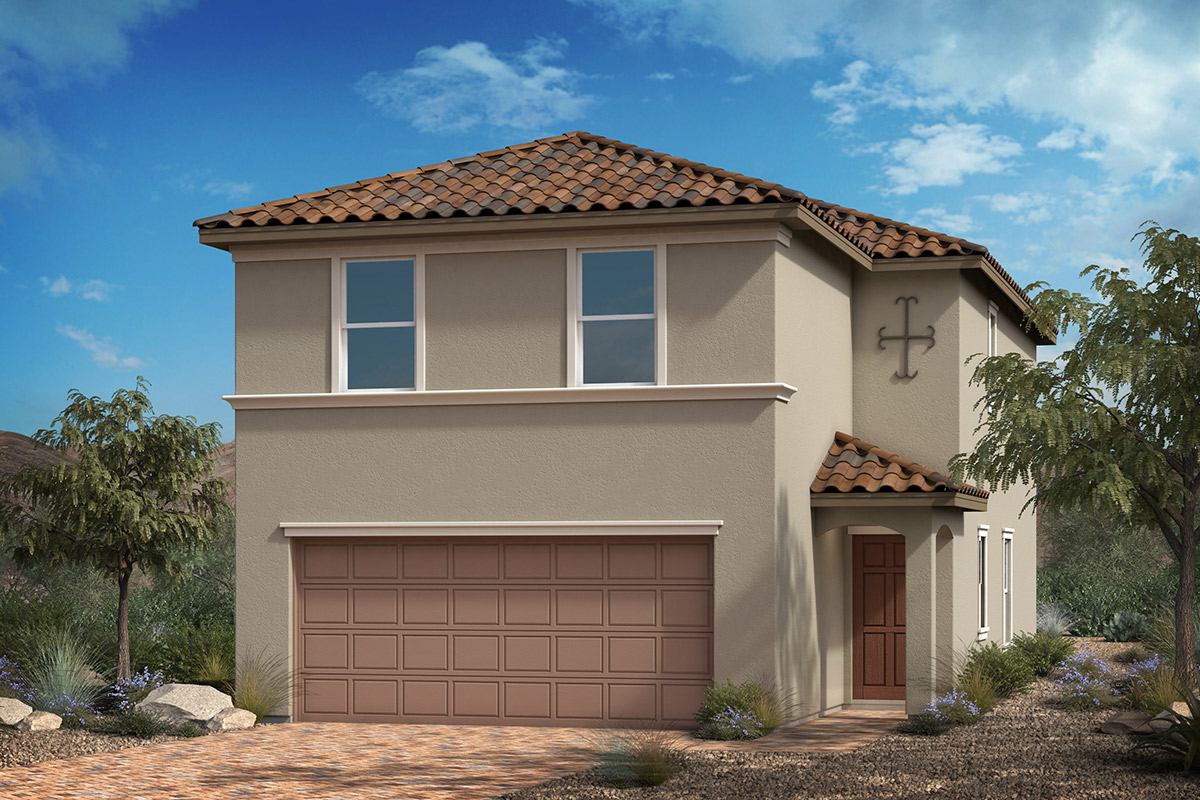 New Homes in Las Vegas, NV - Bremerton Plan 1768 Elevation E