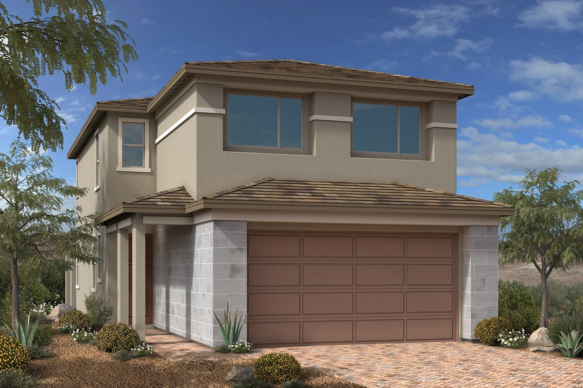 New Homes in Las Vegas, NV - Bristle Vale at Summerlin - Collection I Plan 2089