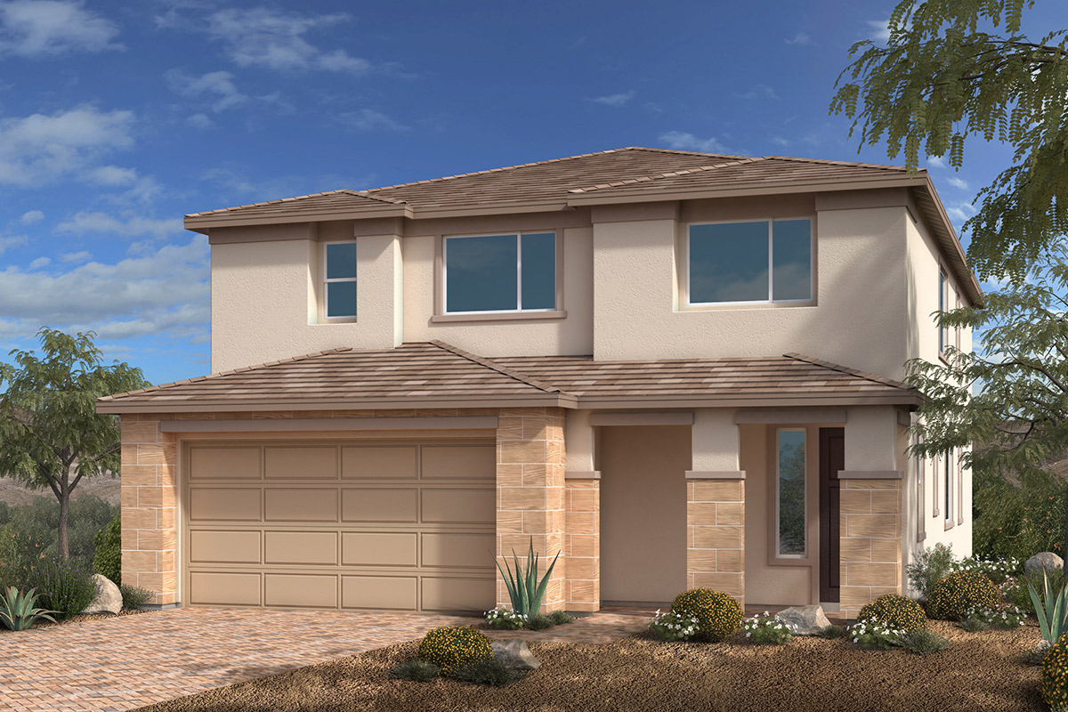 New Homes in Las Vegas, NV - Bristle Vale at Summerlin - Collection II Plan 3063