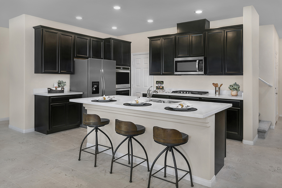 New Homes in Las Vegas, NV - Bristle Vale at Summerlin - Collection I Plan 1787 Kitchen