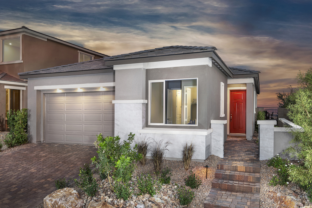 New Homes in Las Vegas, NV - Bristle Vale at Summerlin - Collection II Plan 1858