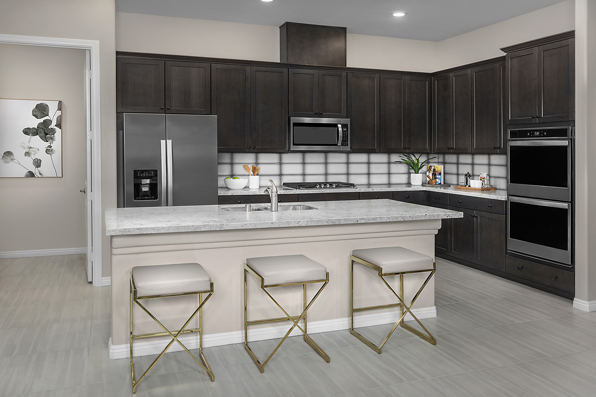 New Homes in Las Vegas, NV - Bristle Vale at Summerlin - Collection II Plan 1858 Kitchen