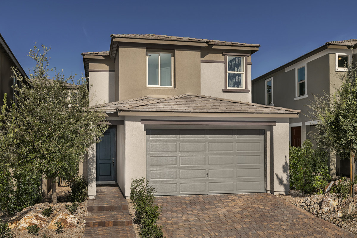 New Homes in Las Vegas, NV - Bristle Vale at Summerlin - Collection I Plan 2114