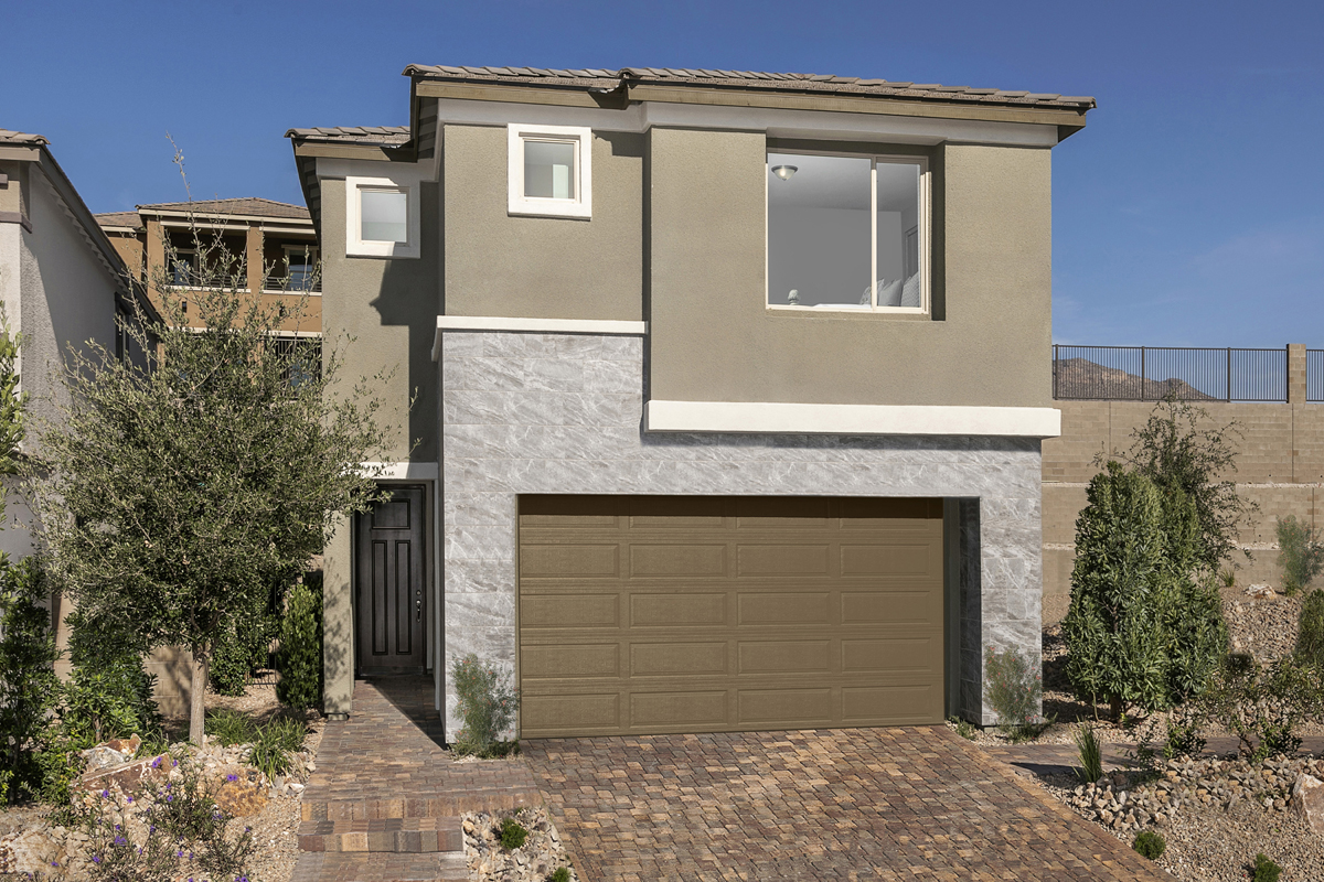 New Homes in Las Vegas, NV - Bristle Vale at Summerlin - Collection I Plan 2466