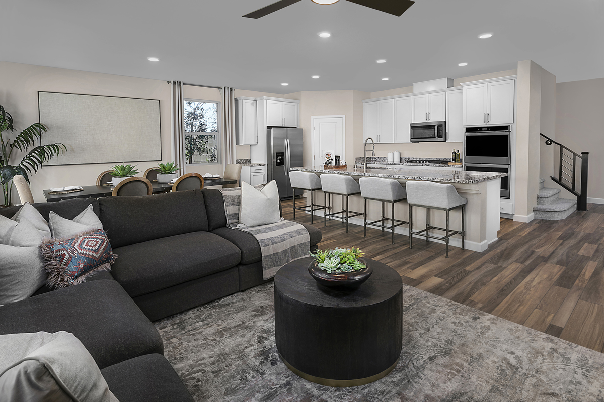 New Homes in Las Vegas, NV - Bristle Vale at Summerlin - Collection I Plan 2466 Great Room