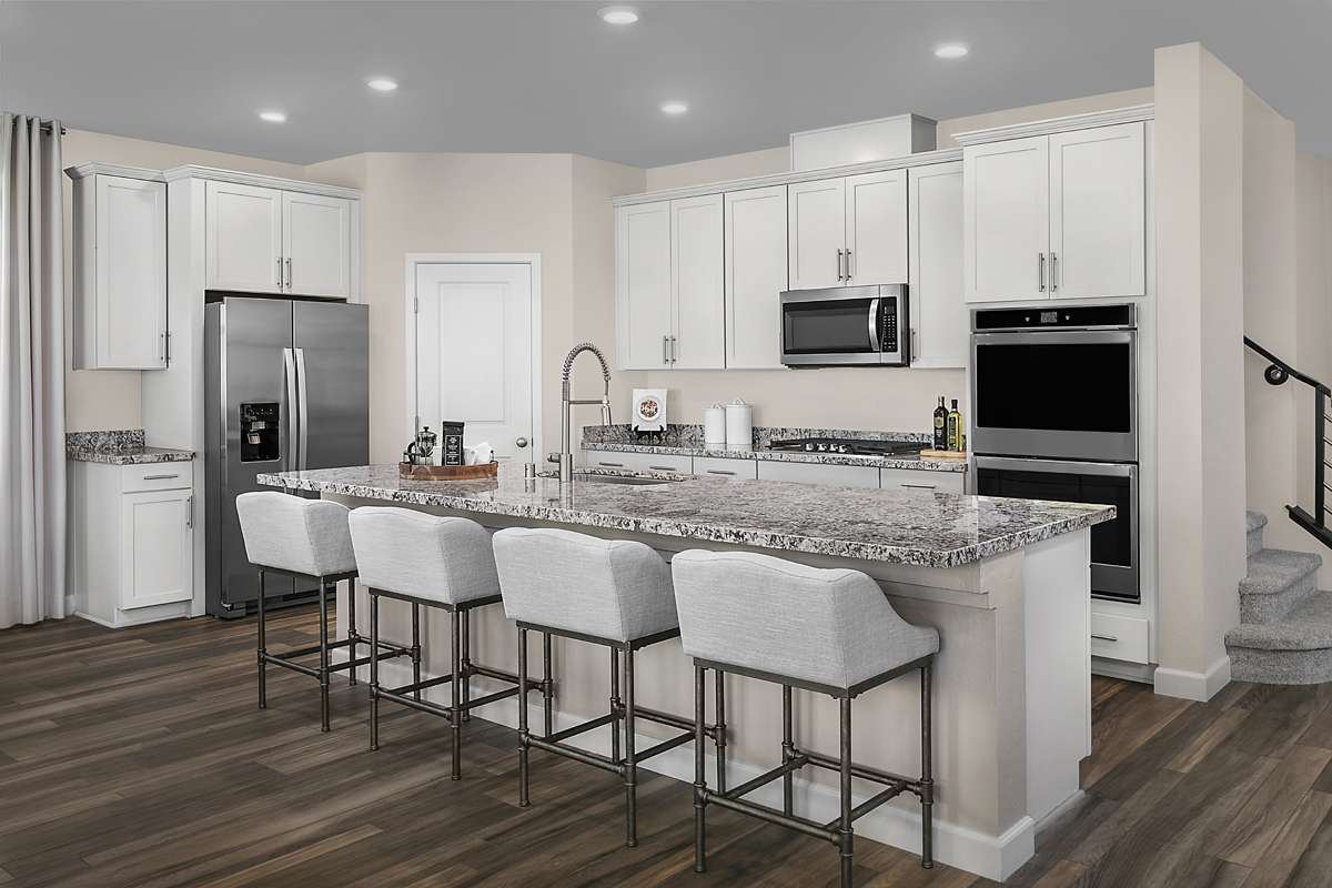 New Homes in Las Vegas, NV - Bristle Vale at Summerlin - Collection I Plan 2466 Kitchen