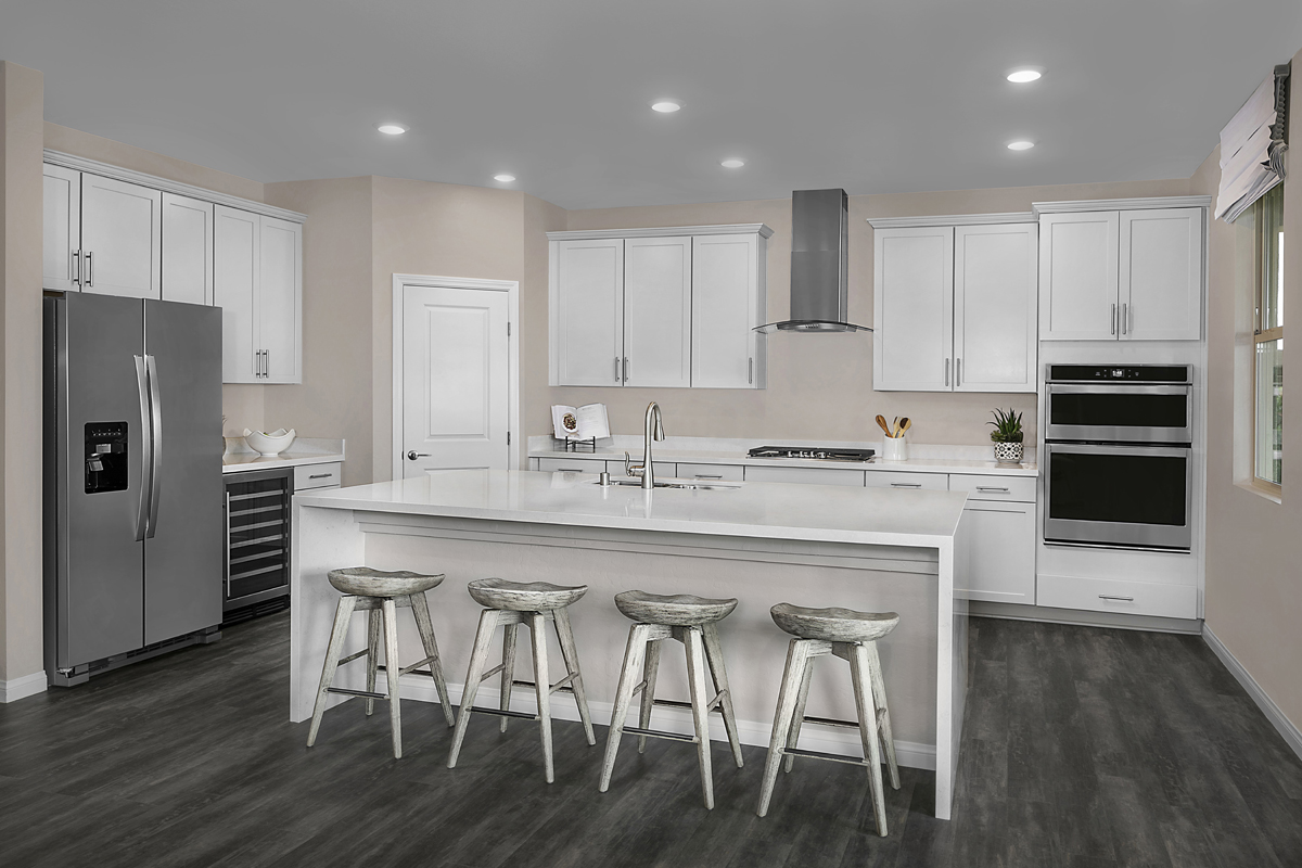New Homes in Las Vegas, NV - Bristle Vale at Summerlin - Collection II Plan 3063 Kitchen