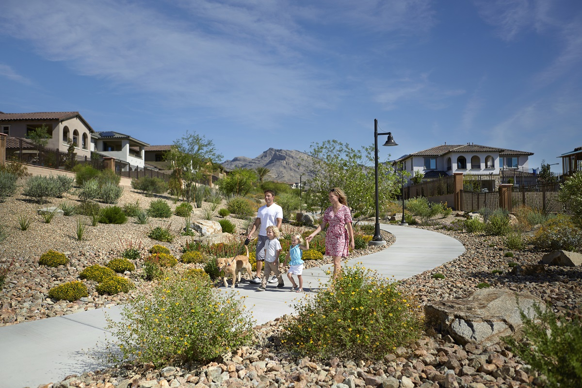 New Homes in Las Vegas, NV - Bristle Vale at Summerlin - Collection I Summerlin Trails