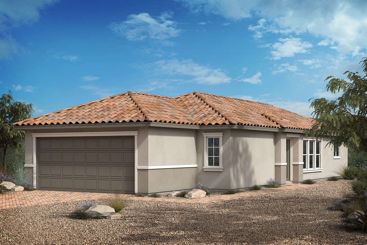 New Homes in Las Vegas, NV - Cactus Landings Plan 1157 Elevation E