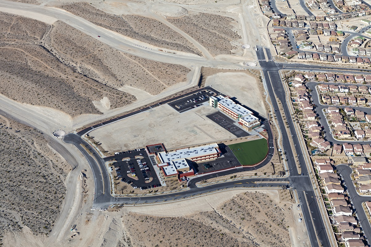 New Homes in Las Vegas, NV - Bristle Vale at Summerlin - Collection II Doral Academy Red Rock School