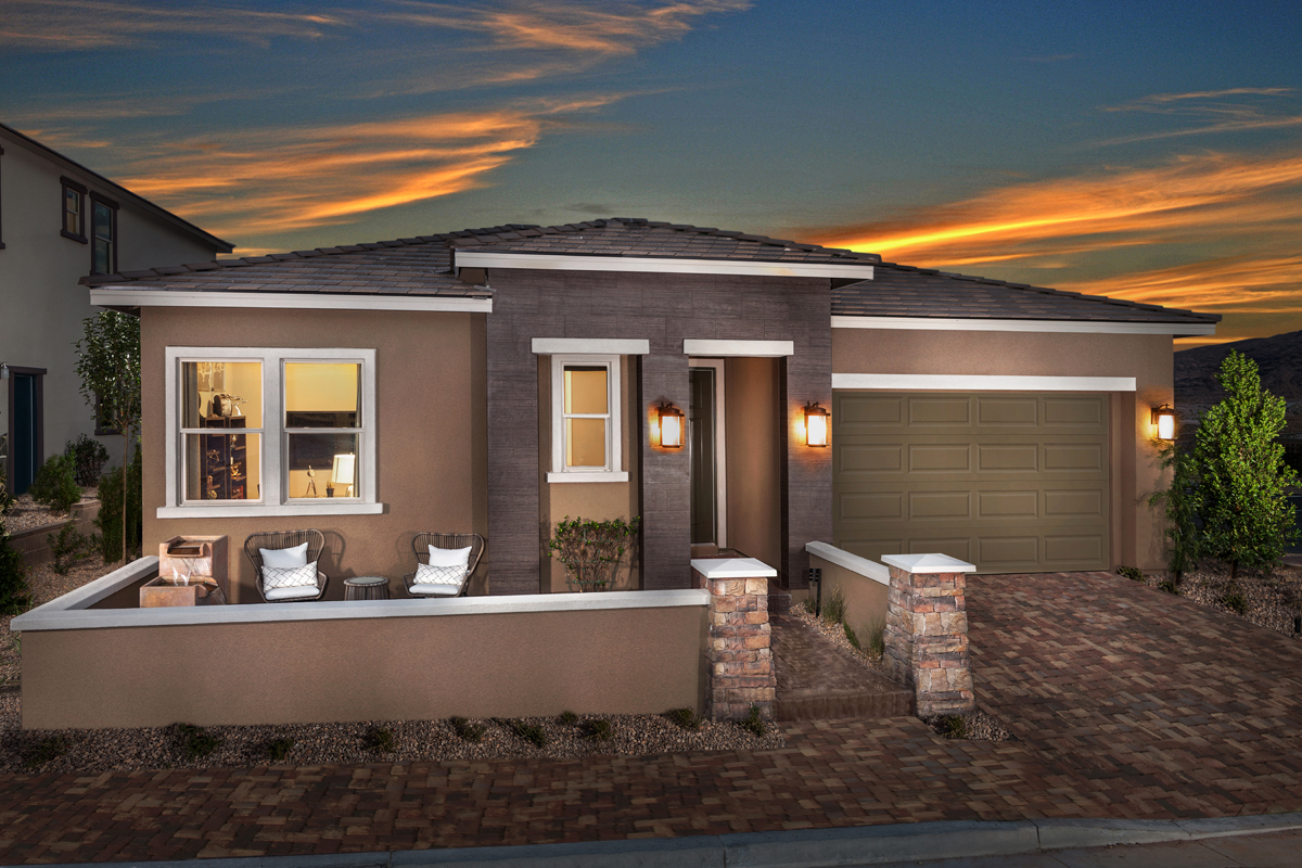 KB model home in Las Vegas, NV